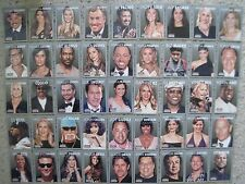 AMERICANA SET 73 BASE CARDS Panini 2015 Movie Stars & Music Singers POP CULTURE
