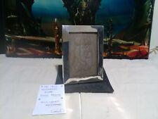 More details for silver art deco photo/picture frame hallmarked streamline design.birmingham 17cm