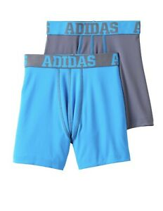 Youth Adidas Climalite Boxer Brief 2 Pack Small