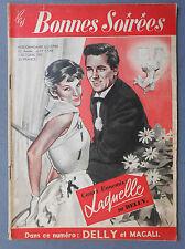 ►BONNES SOIREES N°1548/1951  - SPIROU - SPID - FANTASIO - COSTUMES ENFANTS