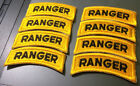 Vietnam Era US Army Ranger Tab Cut Edge Patch For 1st Cavalry Division 1 Piece