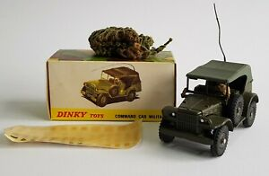 French Dinky Toys No. 810, Command Car Militaire, - Superb Near Mint Condition.