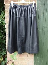 V for very Black Flare Skirt Size 14