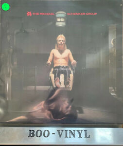 The Michael Schenker Group  1980 Vinyl [CHR 1302] Record A2-B1 Vg+