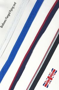 QUALITY 3MM Flanged Piping Insert Cord Cotton cut Per Metre - Many Colours