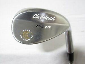 Used RH Cleveland CG15 Single 56* Sand Wedge - Wedge Flex Steel