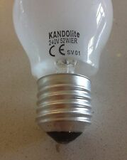 BOX of 100 E27 NEW FROSTED GLOBE XENON HALOGEN A55GLS ER LIGHT LAMP BULB RRP$695