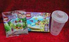 LEGO FRIENDS OLIVIA'S SPEEDBOAT 3937 + STEPHANIE'S BAKERY 30113 & LEGO CONTAINER
