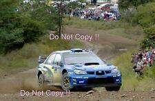 Petter negó Subaru Impreza WRC2007 Rally argentino 2008 fotografía 1