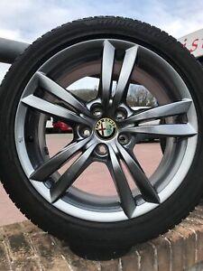 """Cerchi in lega Alfa Romeo Giulietta da 17"""" ORIGINALI NUOVI OFFERTA"""