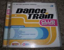 Dance Train 2000:3 Club Edition~RARE 2000 Belgium Import 2 CD House Trance Comp
