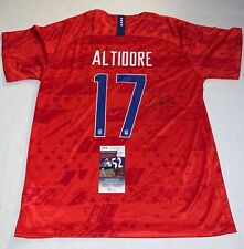 Jozy Altidore Toronto FC signed Team USA Soccer jersey autographed JSA