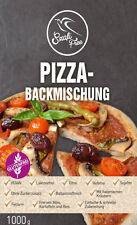 Premium Paleo Pizza, Pizzateig Backmischung 1000g (glutenfrei, vegan)