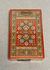 Vintage Congress Playing Cards, Cel-u-tone Finish, Sealed