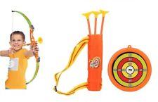 Bow & Arrow Tiro Con Arco Set Niños Juguete al aire libre Jardín Divertido Juego Regalo UK