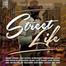 STREET LIFE - A DECADA OF JAZZ - FUNK & FUSION - VARIOS - 2CDS [CD]