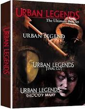 URBAN LEGENDS TRILOGY 1-3 MOVIE ULTIMATE BOX SET DVD UK Film New Region 2 x