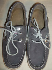 Sperry Top-Sider Bluefish Women US 5.5 Gray Boat Shoe  (21.5cm = Girls Size 3.5)