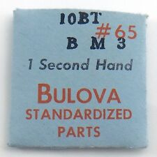 Genuine Bulova Standardized Parts 10BT BM3 #65 1 One Second Hand Sealed I602
