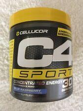 Cellucor C4 Sport Pre Workout Powder, 30 Serves Blue Raspberry, 285g. $23.50