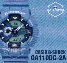 Casio G-Shock New Denim'd Collection Limited Model Series Watch GA110DC-2A