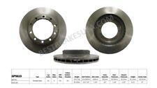 Disc Brake Rotor-Standard Brake Rotor Front,Rear Best Brake GP5615