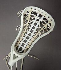 Brine A1 Women's Strung Lacrosse Head Paramount Pocket White New Retails $84.99