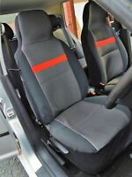 TO FIT A VAUXHALL GRANDLAND CAR , TWO FRONT SEAT COVERS, ALPHA 8 DESIGN