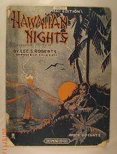 Hawaiian Nights - Lee S. Roberts - 1919