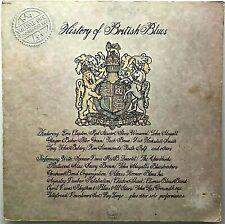 "VARIOUS ""History Of British Blues (Volume One)"" 2LP Comp 1973 Sire SAS 3701 VG+"