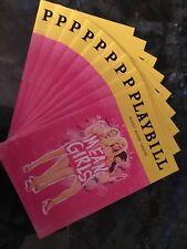 MEAN GIRLS Playbill Taylor Louderman + Erika Henningsen (Tina Fey)
