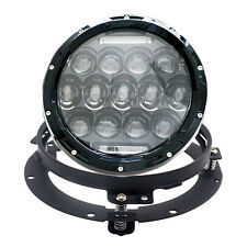 """7"""" LED Projector Daymaker Headlight Lights For Harley Motorcycle with Bracket"""