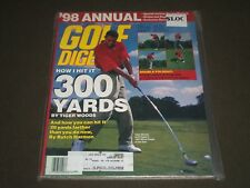 1998 JANUARY GOLF DIGEST MAGAZINE - TIGER WOODS FRONT COVER - O 7700