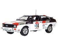 ALTAYA 1/18 Audi Quattro - 1981 - M. Mouton RALLYE DE SAN REMO NEUF EN BOITE