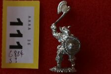 Ahketon Miniatures CT50 Pig Orc Tribes with Sword and Shield Metal Figure Mint