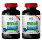 sleep aid formula - Melatonin 3mg 2 Bottles - natural anti depressant supplement