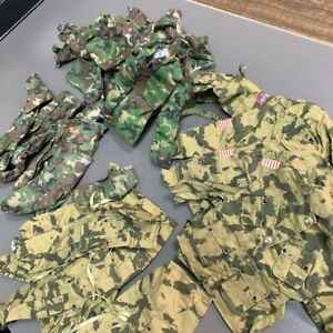 "20PCS Airbone & Camouflage Uniform For 12"" GI JOE Solider Military 21st Century"
