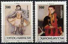Yugoslavia 1992 SG#2819-20 Joy Of Europe Meeting MNH Set #D90261