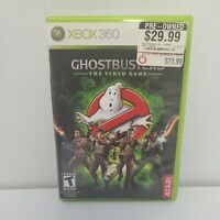 Ghostbusters: The Video Game (Microsoft, Xbox 360) Complete w/ Manual Tested CIB