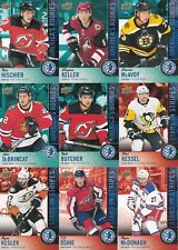 2018 UD National Hockey Card Day USA Complete Set 1-16 Hischier McAvoy Keller