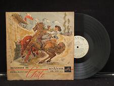 Recuerdos De Chile on RCA Victor Records CML 2001 Chile Import