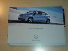 25345) Mercedes B-Klasse Polen Prospekt 2004