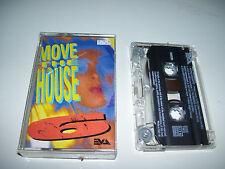 Move The House 6 * RARE EVA CASSSETTE TAPE 1992 early hardcore / house *