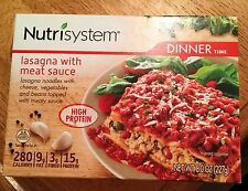 Lot of 12 Nutrisystem Lasagna With Meat Sauce Dinners