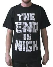 DTA Rogue Status Mens Black The End is Nigh Near T-Shirt Small NWT