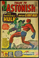 Tales to Astonish #59 VG 4.0 1964 Hulk Giant Man Silver Age Classic Kirby Art!