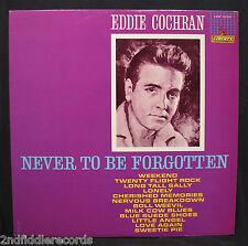EDDIE COCHRAN-Never To Be Forgotten-Near Mint Album-LIBERTY #LRP 3220-Rockabilly
