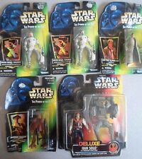 5 Vintage New Package Star Wars Figures Han Solo Hoth Rebel Momaw Nadon Kenner
