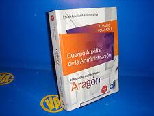 Libro CUERPO AUXILIAR DE LA ADMINISTRACION temario I -comunidad de aragon