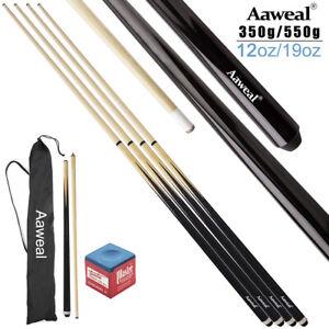 2 x Aaweal 57'' Inch Wooden Snooker/Pool Cues Sticks Set